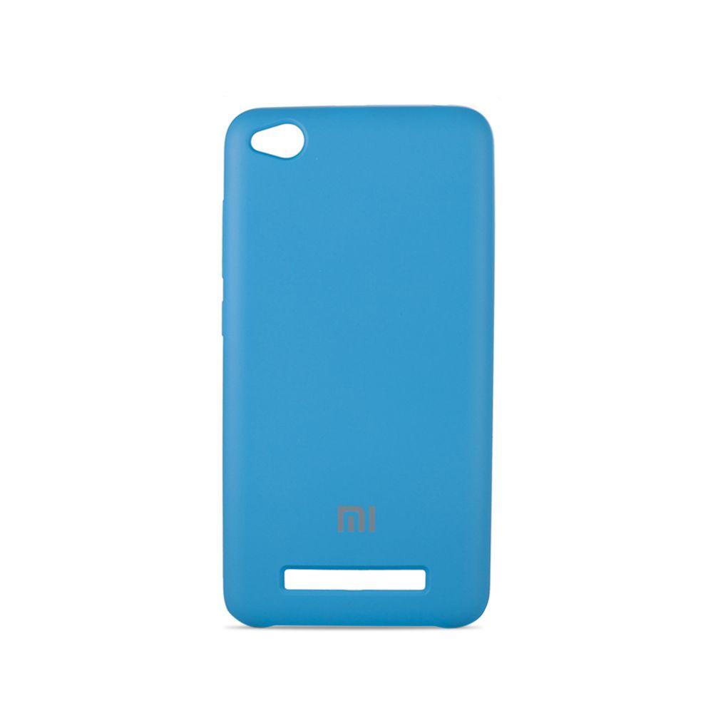 Original Soft Case For Xiaomi Redmi 4a Light Blue Softcase